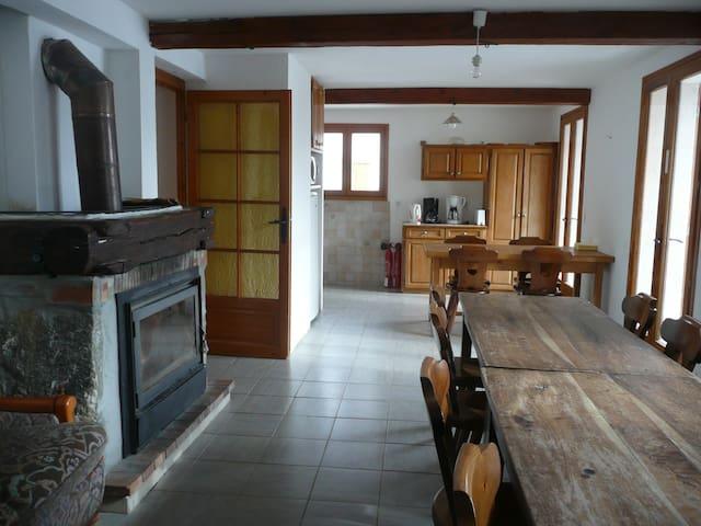 Gite d'étape et de séjour à proximité d' Auron - Saint-Dalmas-le-Selvage
