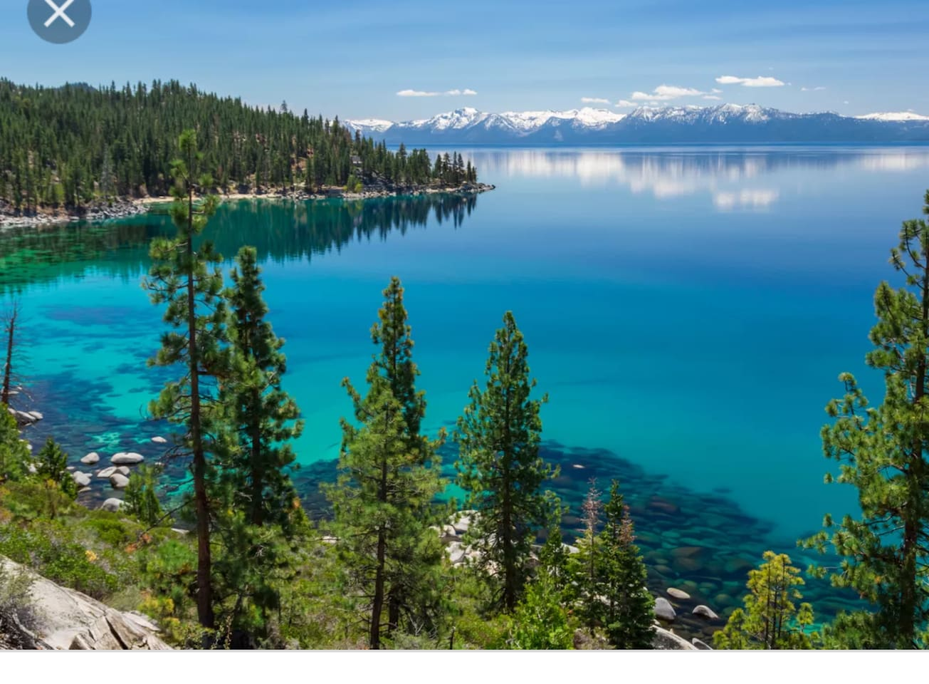 Tahoe is such a beautiful place.