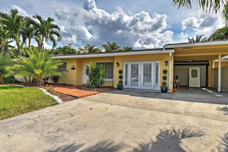 4BR Fort Lauderdale House w/Pool - Fort Lauderdale - House