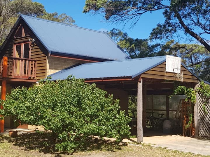 Mudbrick 2 storey self contained Chalet.