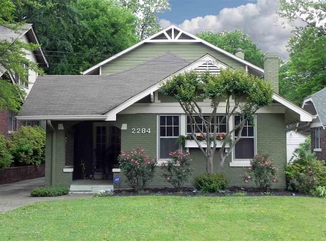 Memphis Bungalow close to everything! - Memphis - Hus