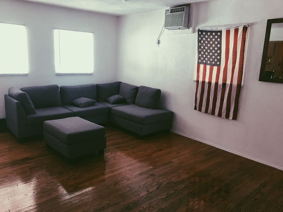 Living Room, comfy sectional