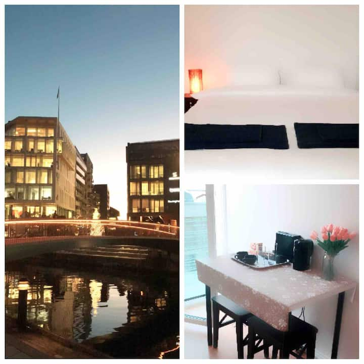 WOW-Best Location Oslo City Center!!Private Room
