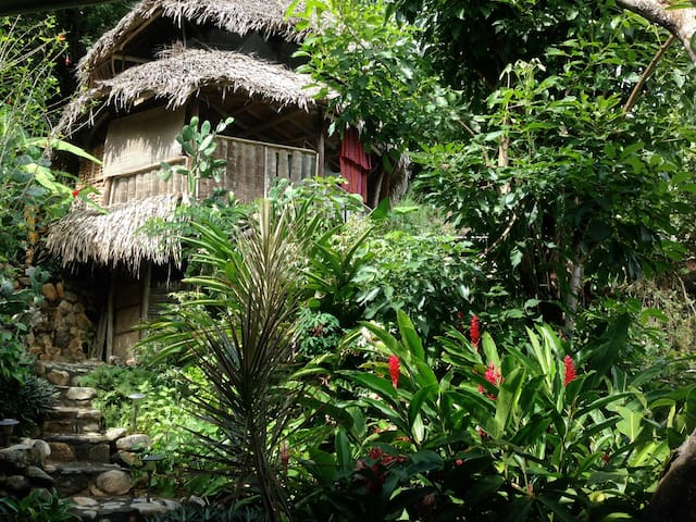 El Jardin : Casa Banana - Yelapa - Bungalow