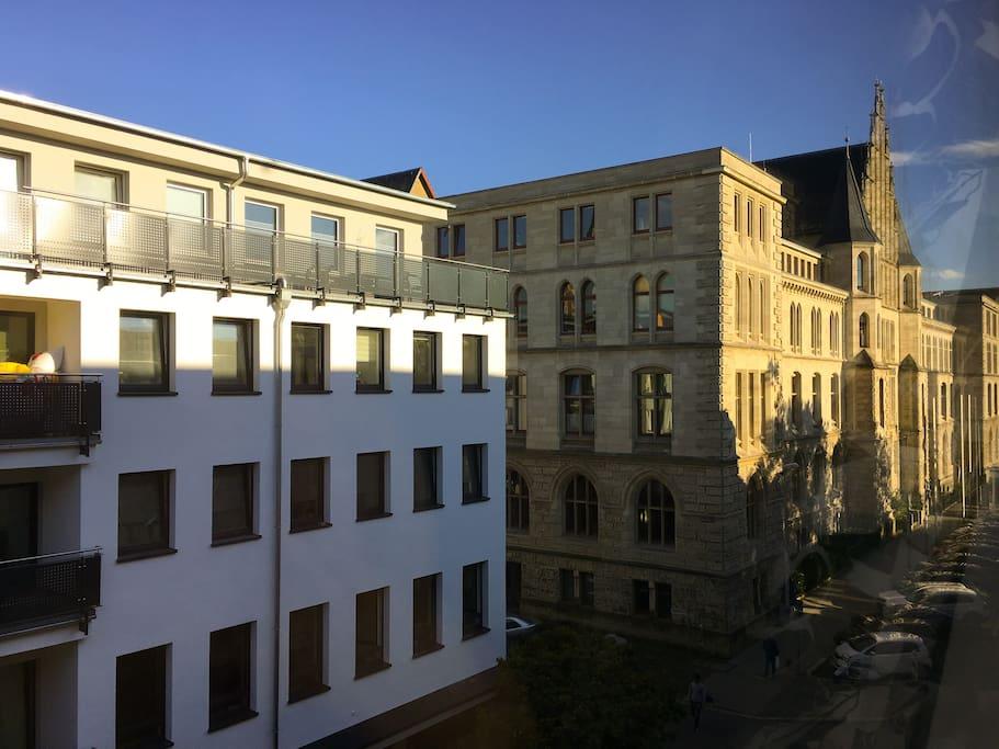 Ausblick Gästezimmer // View guest room