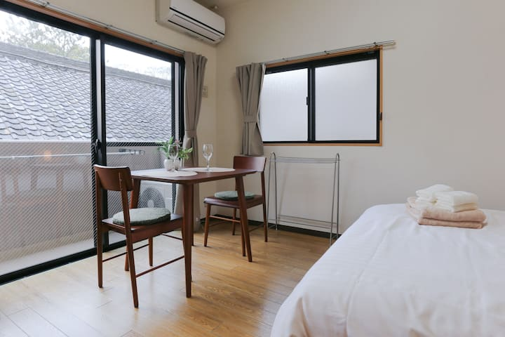 #23 Gion cozy apt! ONLY 1 MIN WALK from bus stop - Kyoto - Lägenhet