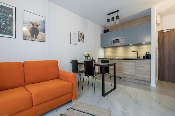 1555 Apartment I z miejscem parkingowym