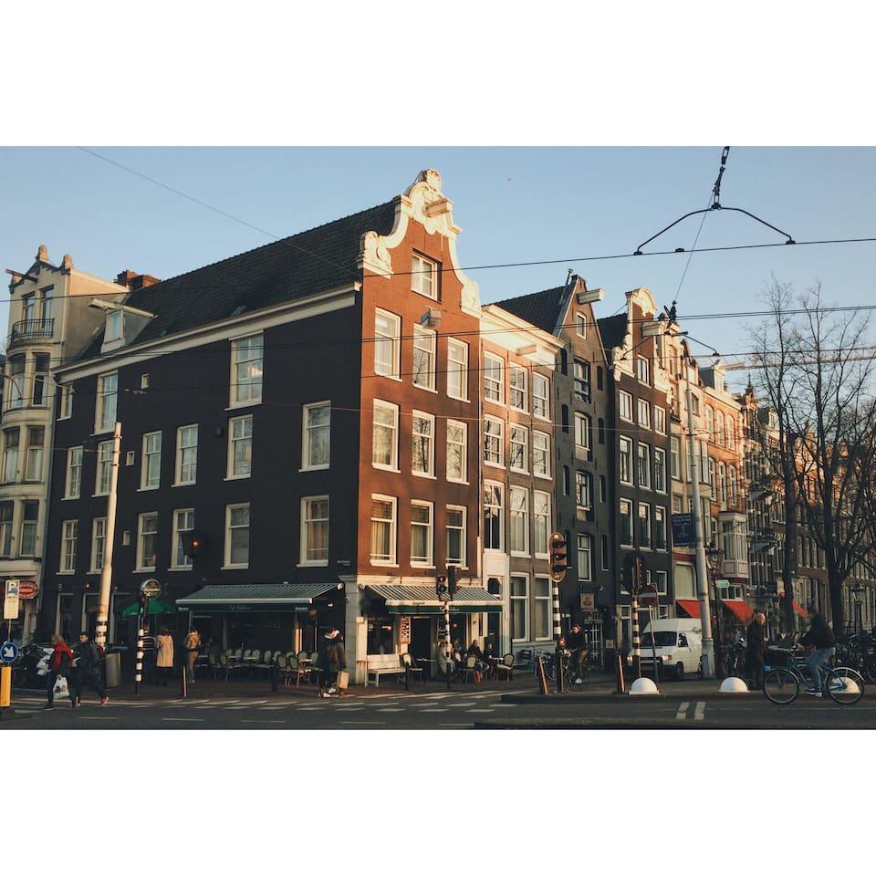 Classic Dutch Canal House