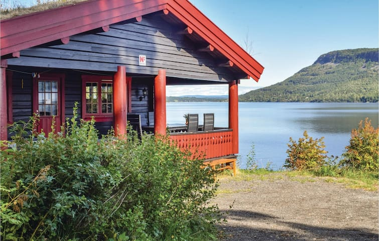 Holiday cottage with 4 bedrooms on 125m² in Vikersund