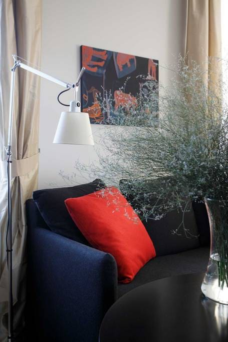 Studio Apartment living room