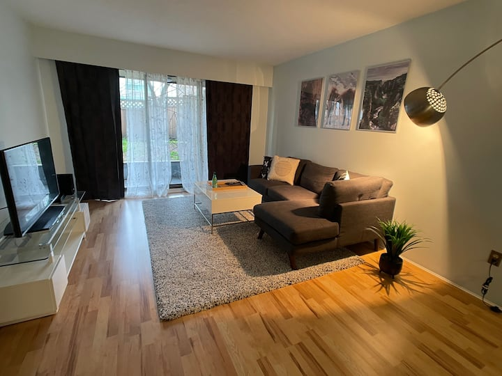 Comfortable One Bedroom Gem Across VGH