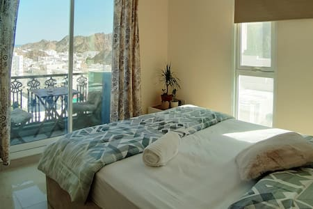 Serenity Pent bedroom with an amazing view