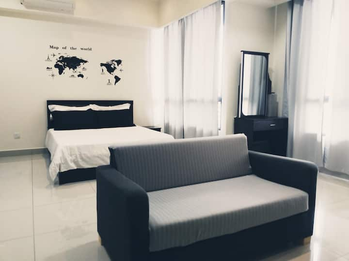 Cosy home @ ONE SOUTH Flexis near APU bukit jalil