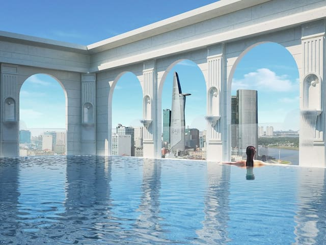 NEW LISTING: 3BDR *Infinity Pool* - Ho Chi Minh City - Apartment