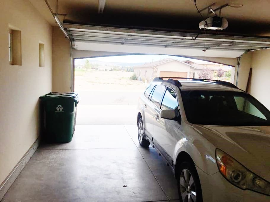 2-car garage.