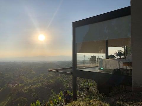 Hermosa cabaña en Filandia - Impresionante vista