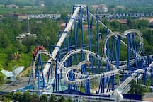 we  are 15 km from gardaland park