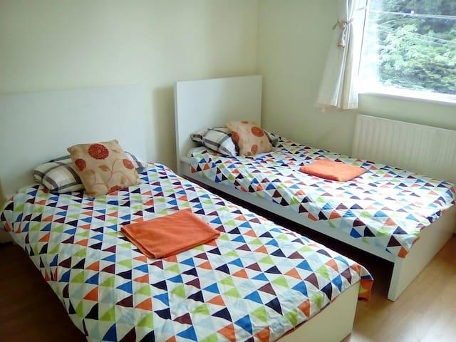 Twin Room at Dermville Stillorgan Co Dublin