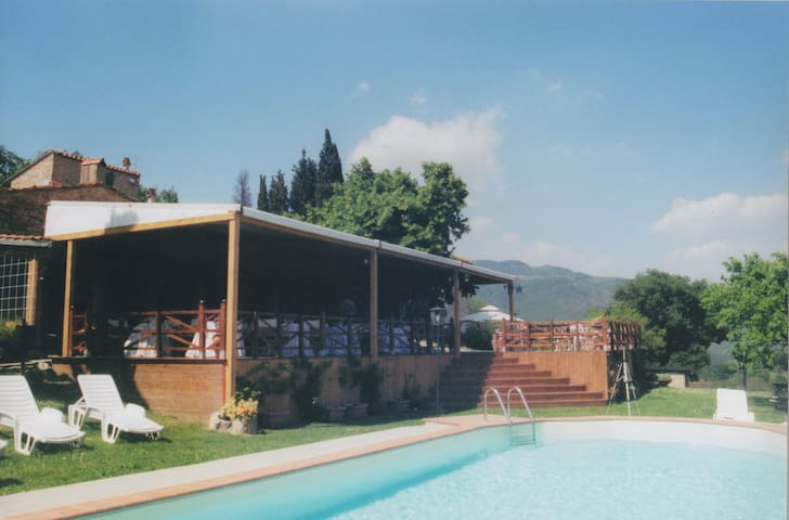 Apartament in Florence country with swimmingpool - Pontassieve - Appartement