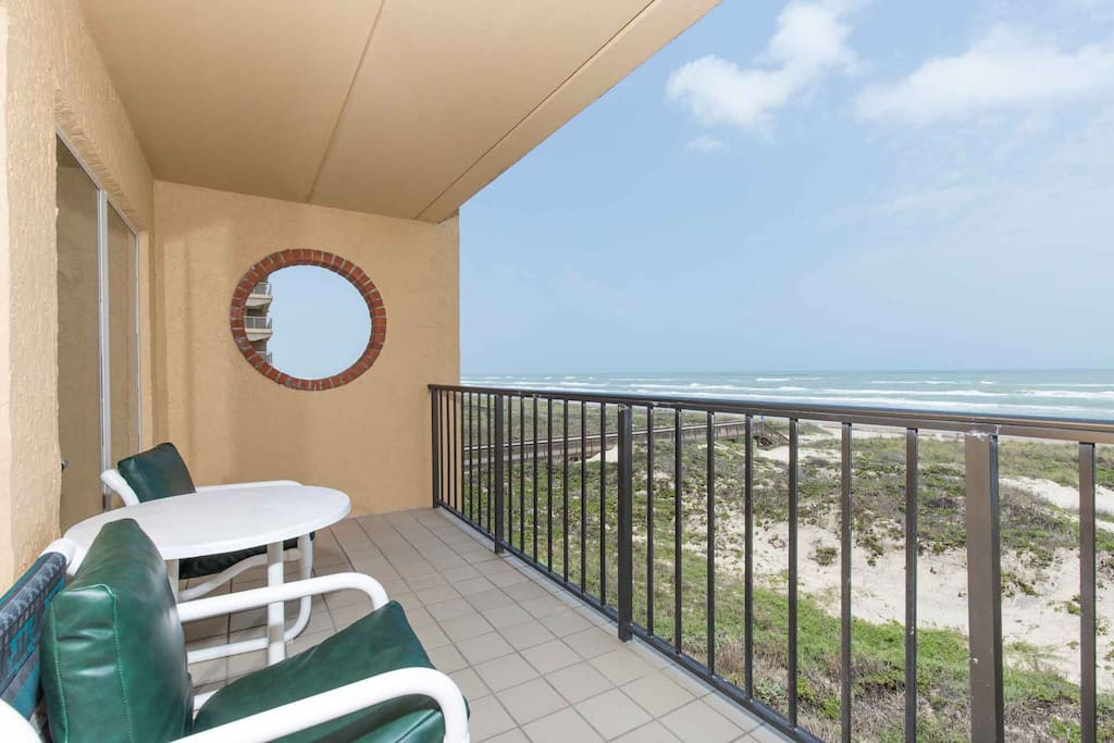 Stay right on the beach with an amazing view!