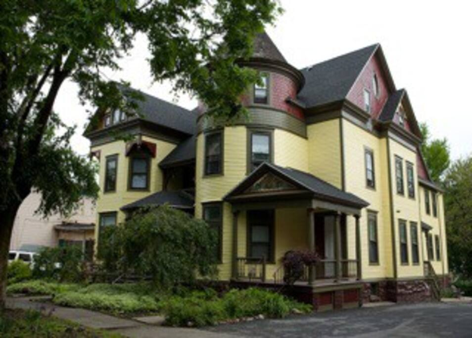 1880's Driscoll House, listed on the Nationial Register of Historic Places.