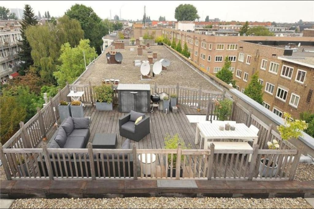 Great roof terrace