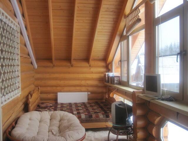 спальня  на террасе 2 этаже