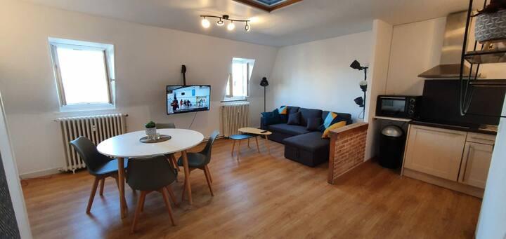 Appartement lumineux en plein centre de Dieppe