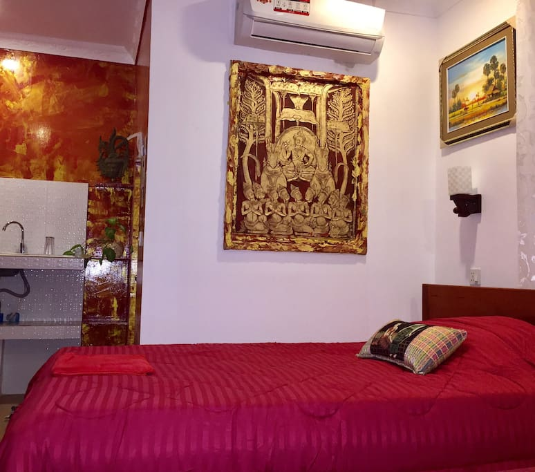 NGO apartment & kitchen & private bathroom 2 beds room N° 7