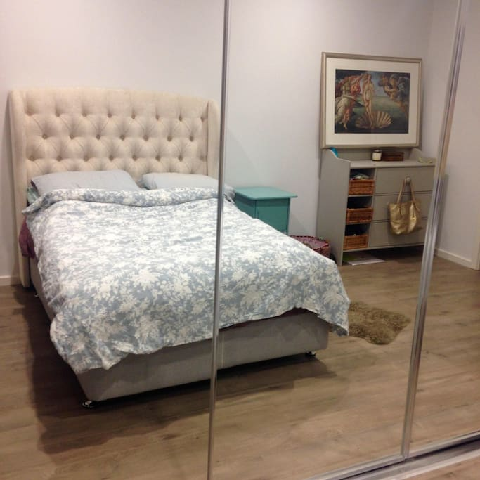 Master bedroom with robe space