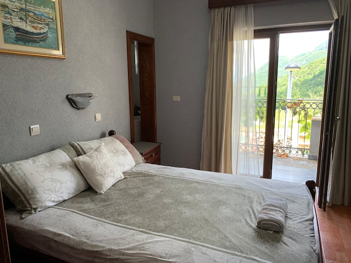 luxury room with private bathroom and amazing view