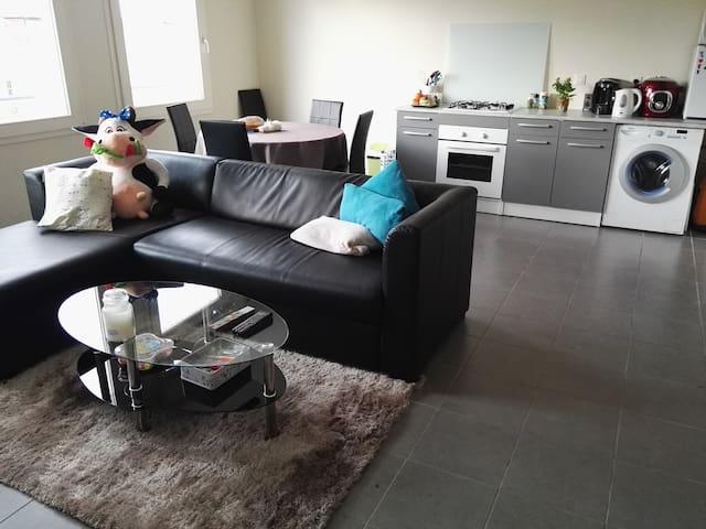 Appartement moderne 45m2, idéalement placé - Digione - Appartamento