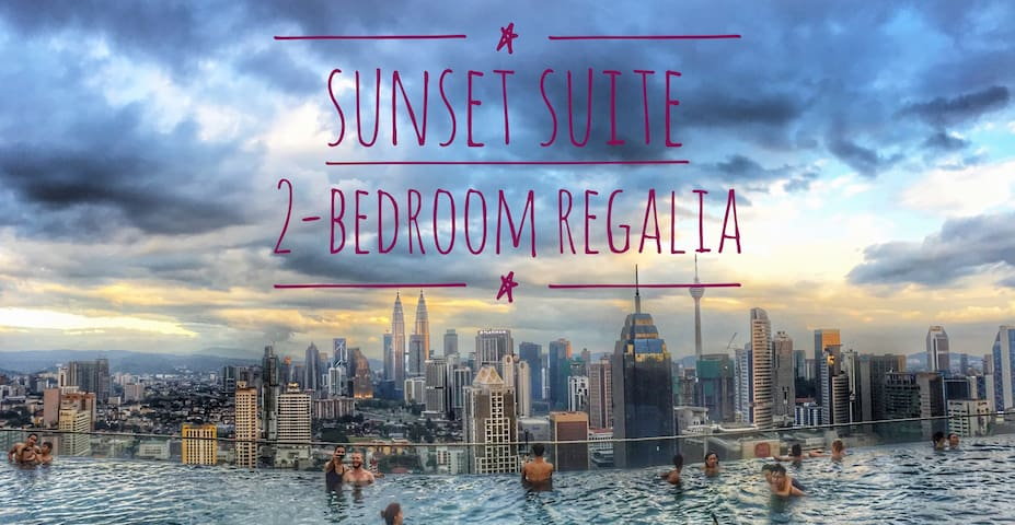 KL City - Sunset Suite, 2 Rooms, Affordable! - Kuala Lumpur - Wohnung