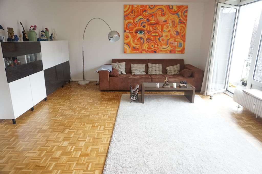 Wohnzimmer/ Livingroom