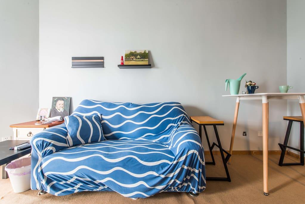 羽绒沙发,躺上去让你不想起来~