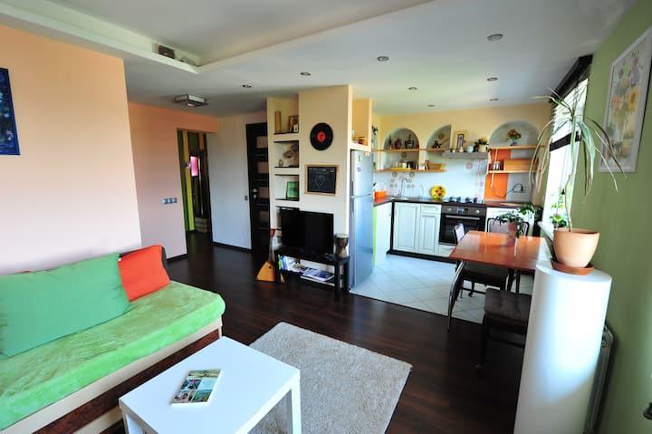Fusion modern flat, Obolon - Dream town