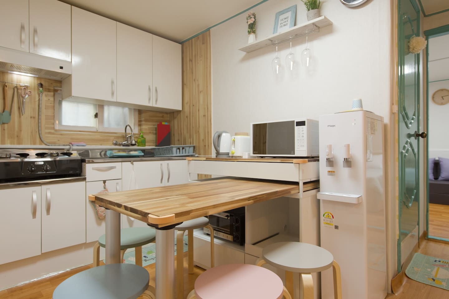 ③♥WONDERFUL♥Lovely♥Bright♥2BR♥4Bed♥FreeEggWiFi
