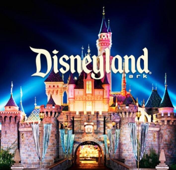 Disneyland 4.7 miles