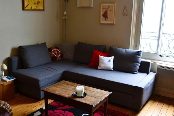 Canapé lit - salon