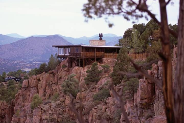 The ONLY lodging on the rim of the Royal Gorge