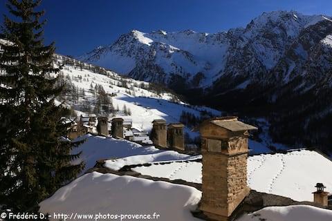 @ Appartement à la montagne