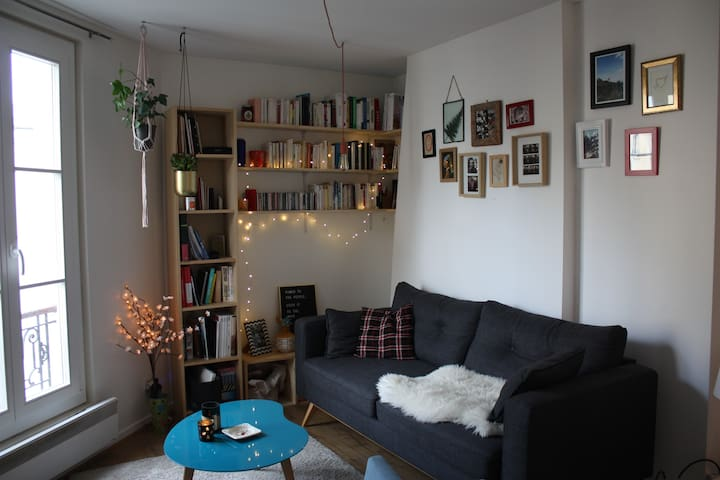 Cute & Cosy paris flat for two ! - Paris - Apartment