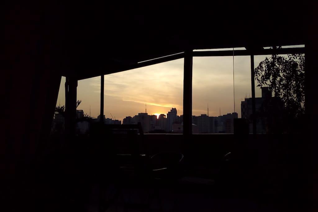 Pôr do Sol do Verão