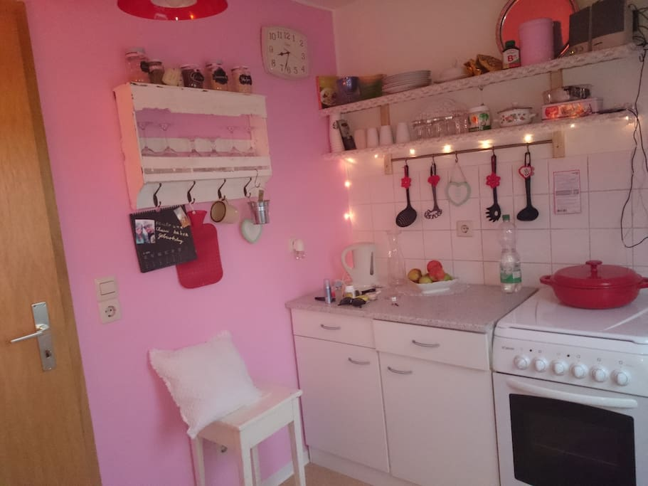 cozy kitchen in 50´s style