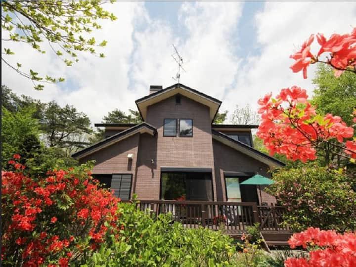 Nasu Kogen, private villa/Azalea House