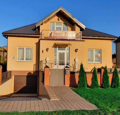 Family Hotel Daugavpils Завтрак включен!!!