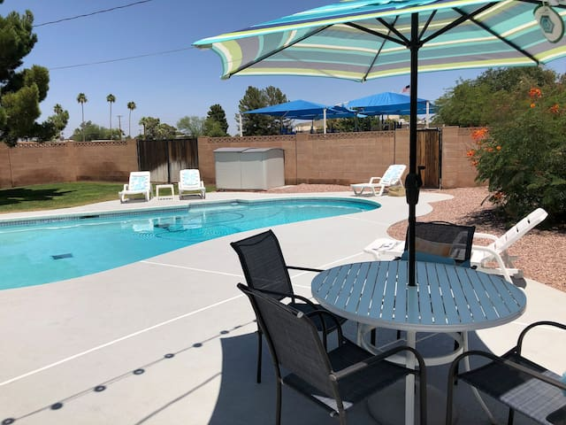 4 Bed + pool for you! Tempe/Old Town Scottsdale
