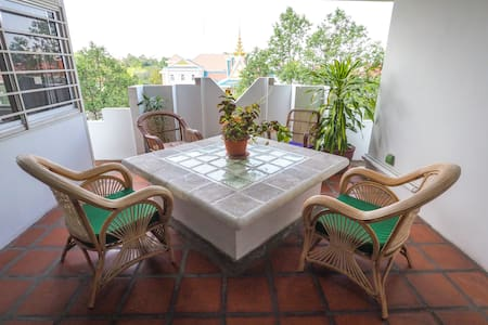 Cosy bedroom in the City Center ! - Phnom Penh - Wohnung