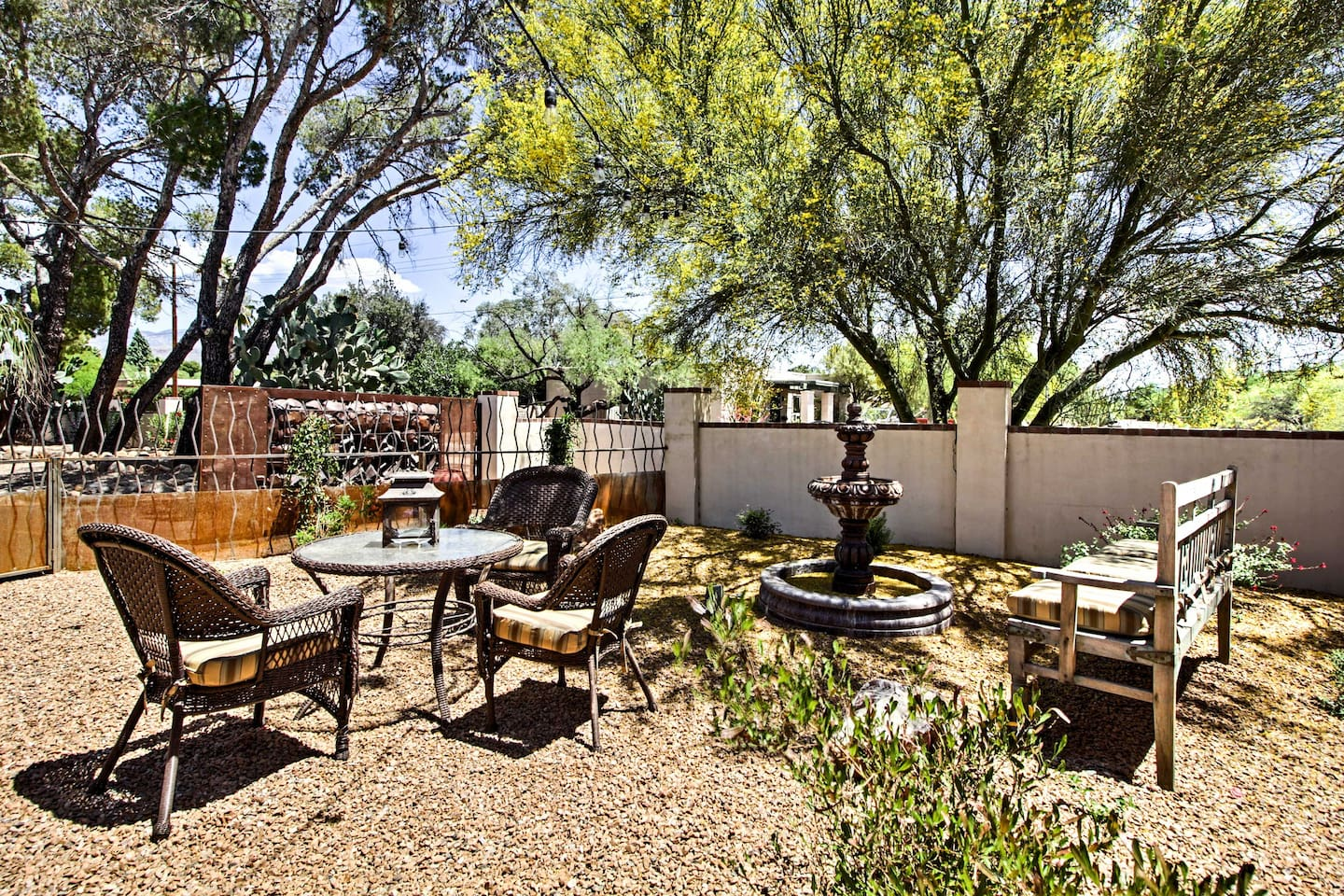 You'll love the landscaping throughout the property.