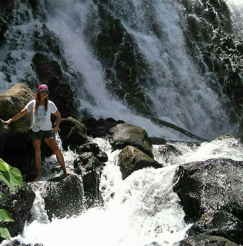 Mimbalut Falls is 1.5kms away from Green Ohana